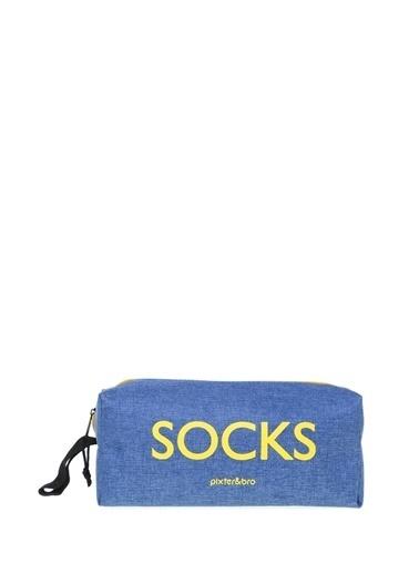 Pixter&Bro Pixter&Bro 12'li Çanta Hediyeli Çorap Renkli